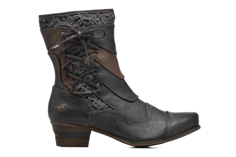 Bottines et boots Mustang shoes Amy Gris vue derrière