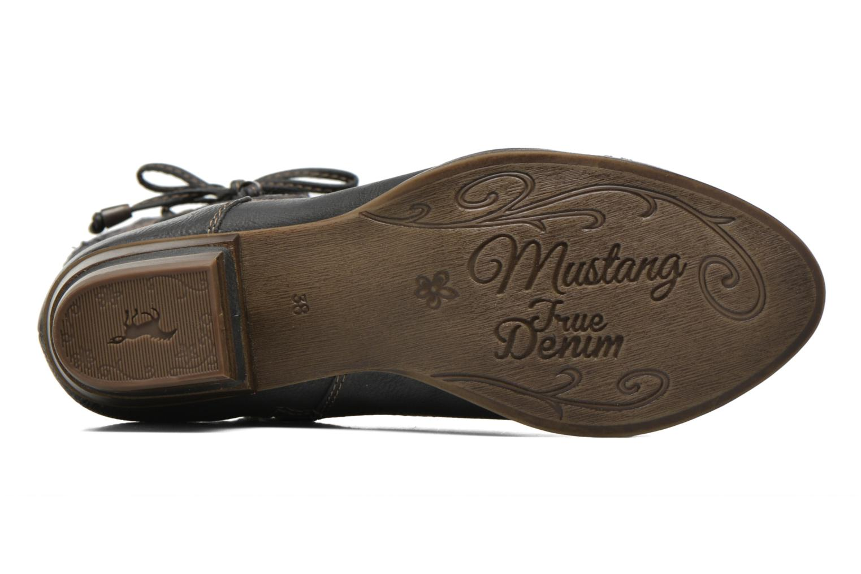 Bottines et boots Mustang shoes Amy Gris vue haut