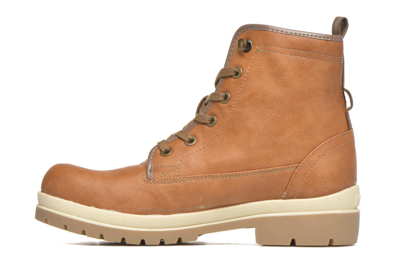 Bottines et boots Mustang shoes Marielle Marron vue face