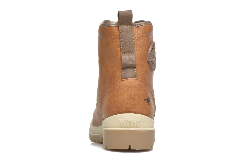 Bottines et boots Mustang shoes Marielle Marron vue droite