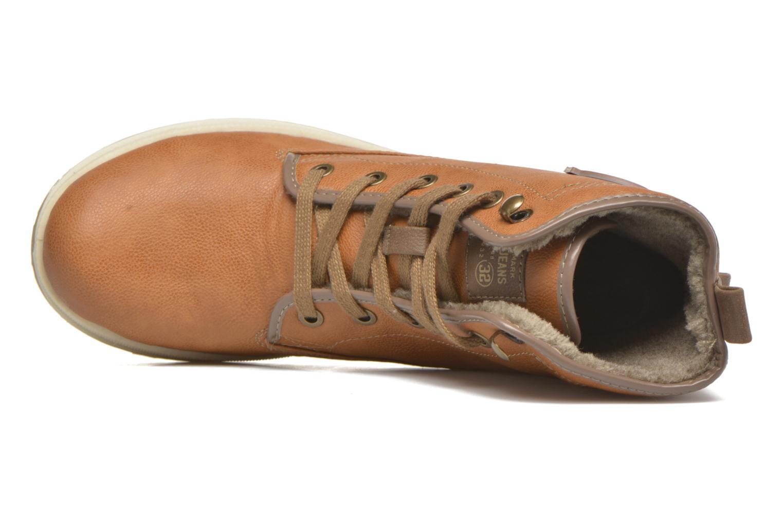 Bottines et boots Mustang shoes Marielle Marron vue gauche