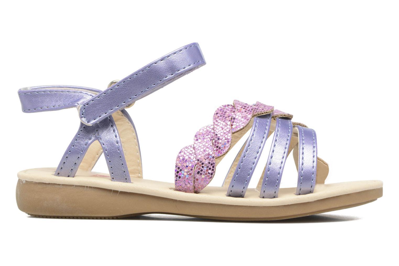 Sandalen NA! Feerie lila ansicht von hinten