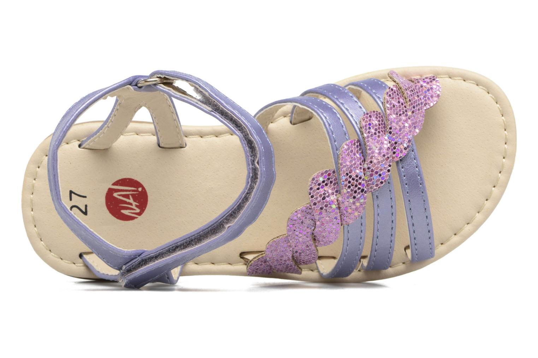 Sandalen NA! Feerie lila ansicht von links