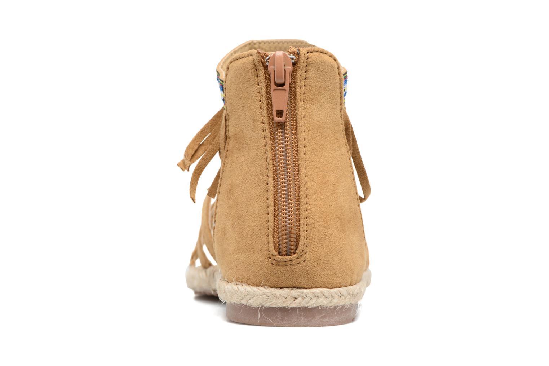 Sandali e scarpe aperte NA! Rash Marrone immagine destra