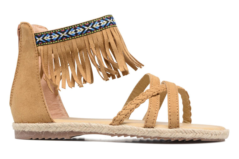 Sandales et nu-pieds NA! Rash Marron vue derrière