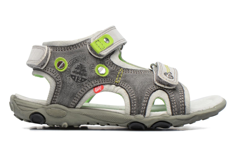 Sandales et nu-pieds NA! Air Gris vue derrière