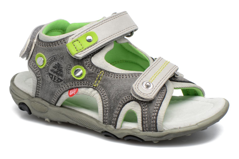 Sandales et nu-pieds NA! Air Gris vue détail/paire