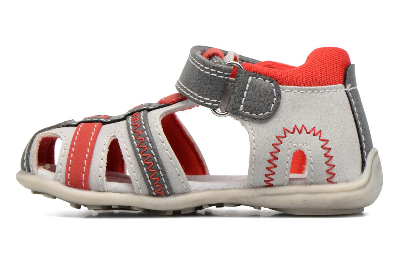 Sandals NA! Angeliko Red front view