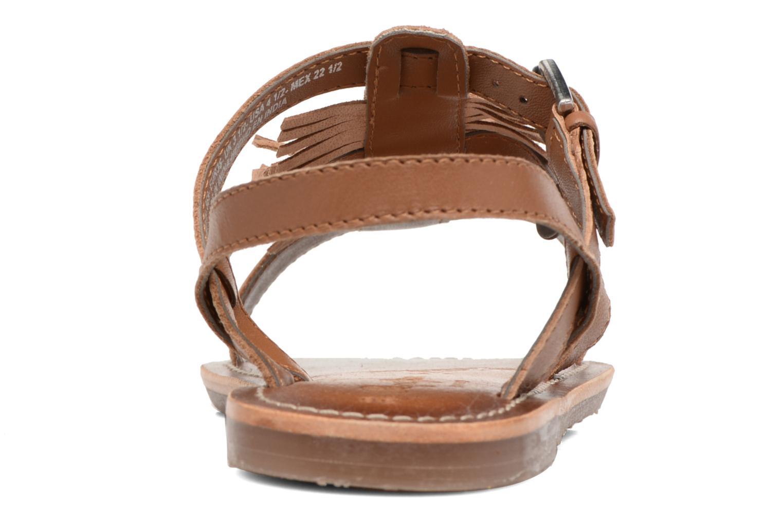 Sandales et nu-pieds Pepe jeans Maya Indian Marron vue droite