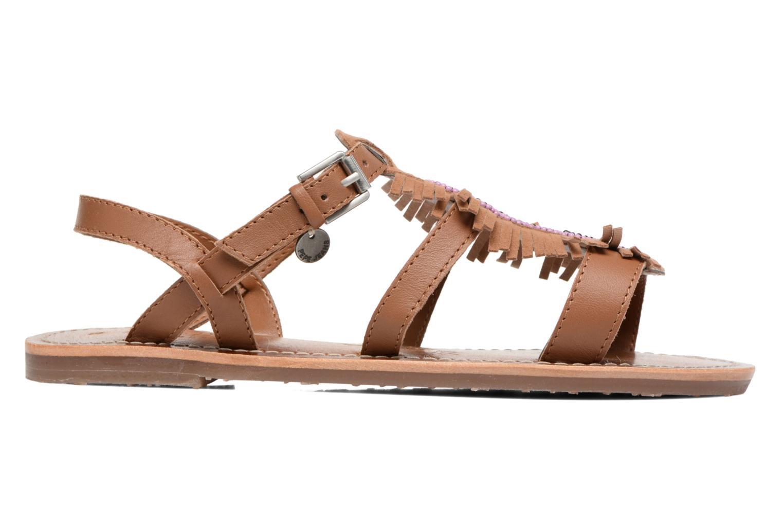 Sandales et nu-pieds Pepe jeans Maya Indian Marron vue derrière