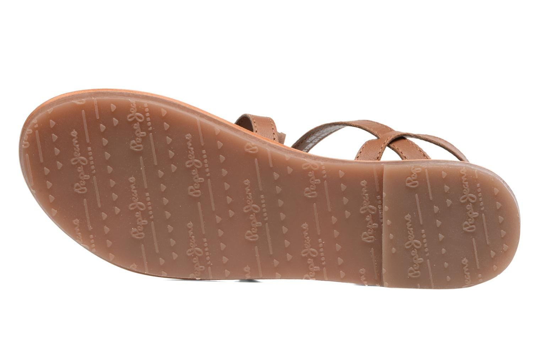 Sandales et nu-pieds Pepe jeans Maya Indian Marron vue haut