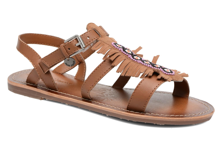 Sandales et nu-pieds Pepe jeans Maya Indian Marron vue détail/paire