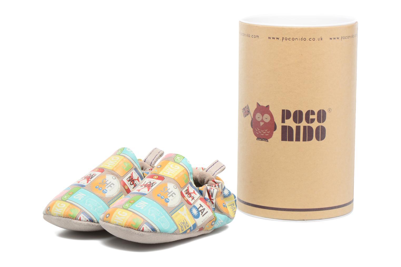 Chaussons Poco Nido Travel Beige vue détail/paire