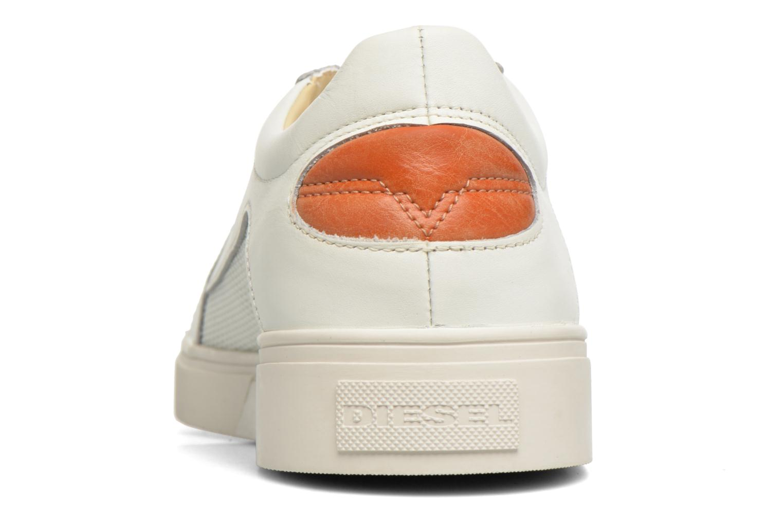Baskets Diesel S-Groove low Blanc vue droite
