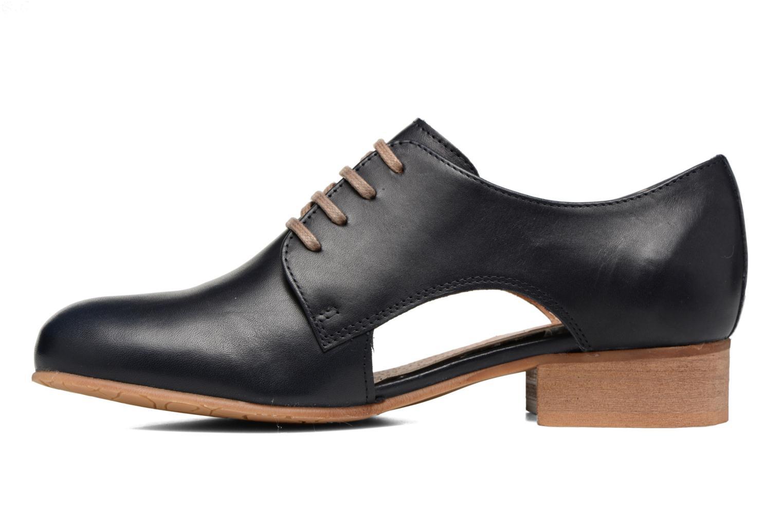 Chaussures à lacets Georgia Rose Celange Bleu vue face