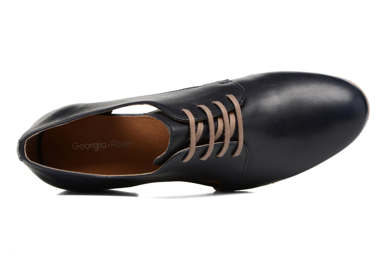 Chaussures à lacets Georgia Rose Celange Bleu vue gauche