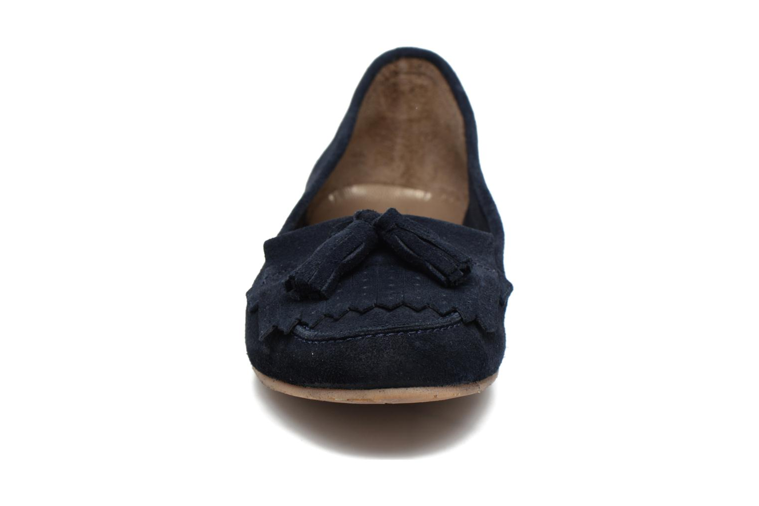 Loafers Georgia Rose Cepom Blue model view