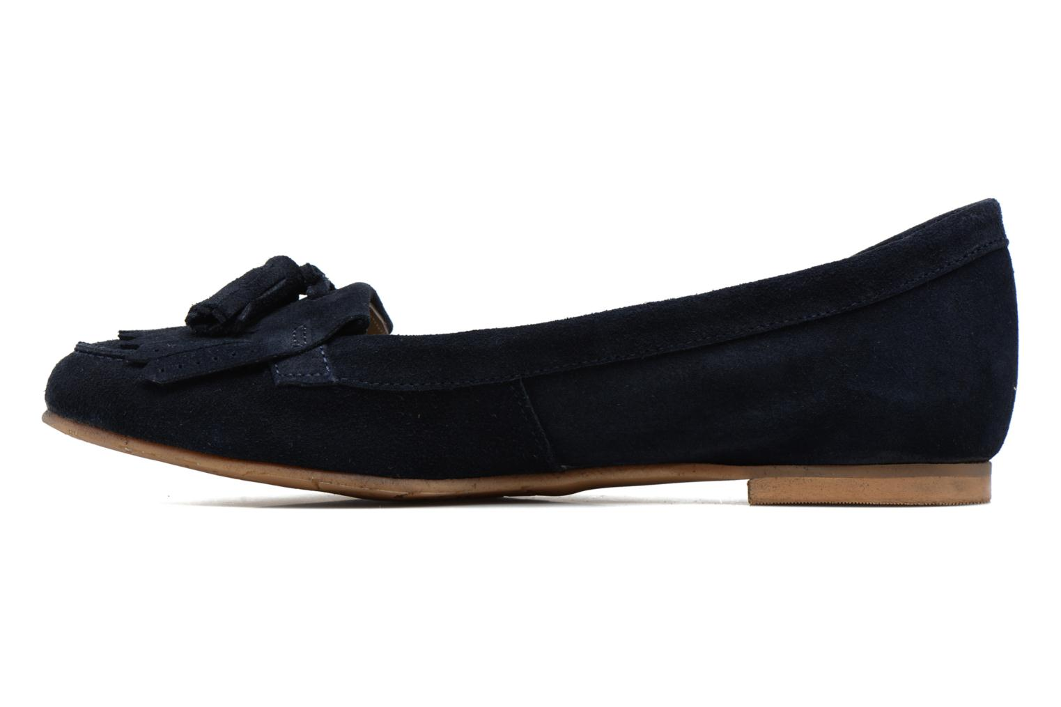 Loafers Georgia Rose Cepom Blue front view