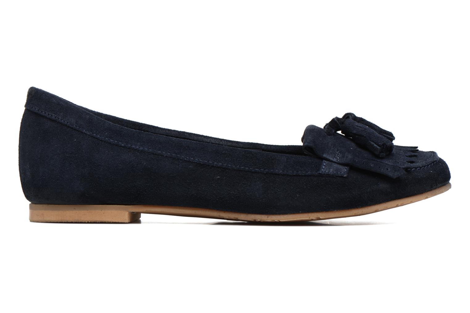 Loafers Georgia Rose Cepom Blue back view