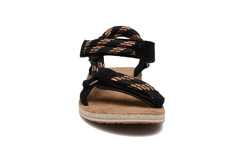 Sandales et nu-pieds Teva Original Universal Rope Bleu vue portées chaussures