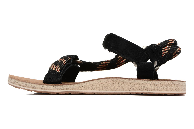 Sandales et nu-pieds Teva Original Universal Rope Bleu vue face