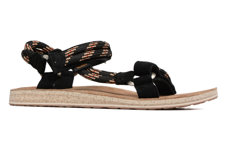 Sandales et nu-pieds Teva Original Universal Rope Bleu vue derrière
