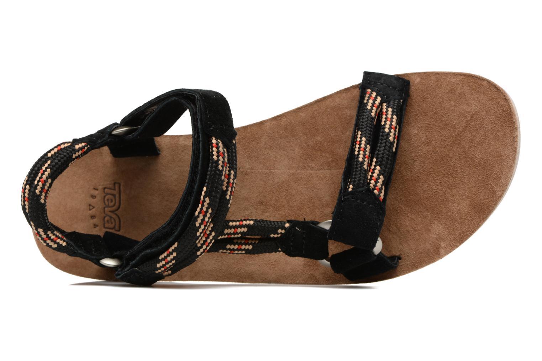 Sandales et nu-pieds Teva Original Universal Rope Bleu vue gauche