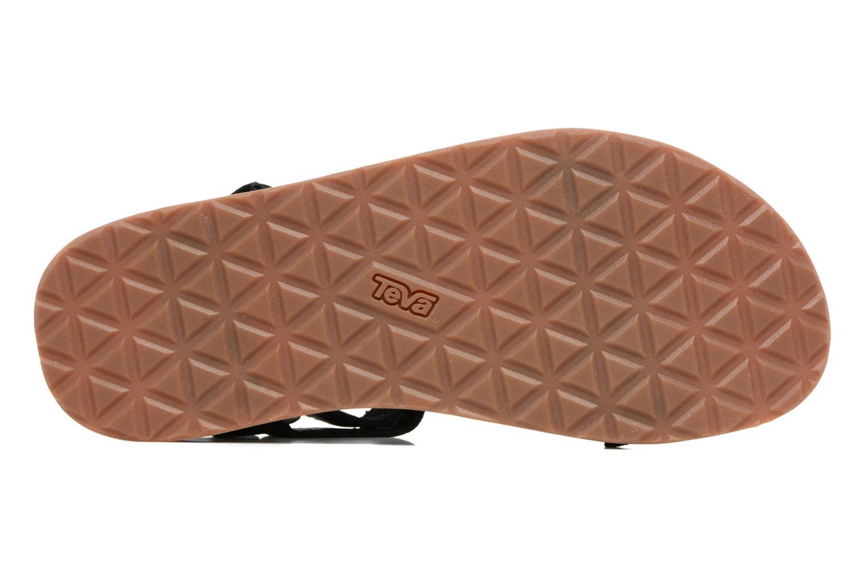Sandales et nu-pieds Teva Original Universal Rope Bleu vue haut
