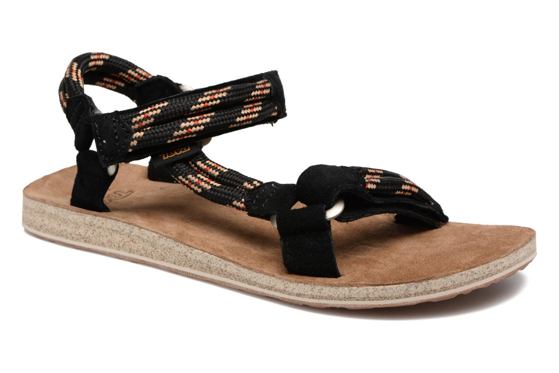 Sandales et nu-pieds Teva Original Universal Rope Bleu vue détail/paire