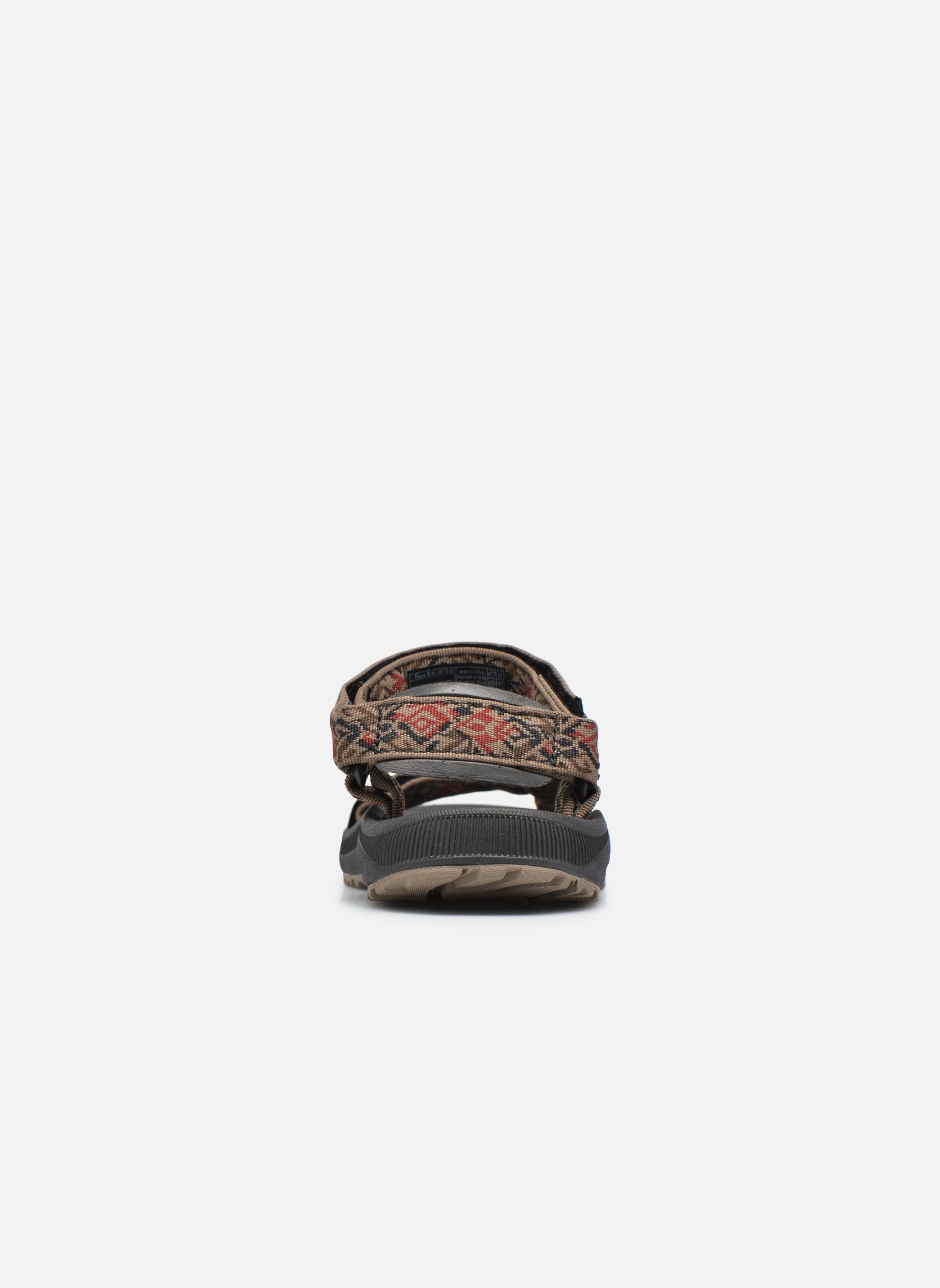 Sandales et nu-pieds Teva Winsted Marron vue droite