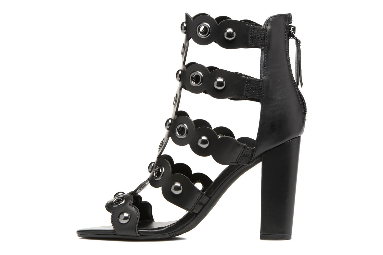 Sandales et nu-pieds Guess Gariza2 Noir vue face