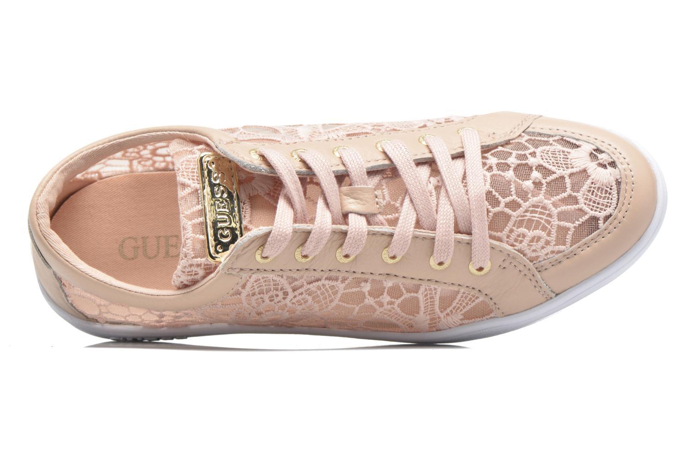 Baskets Guess Glinna 3 Rose vue gauche