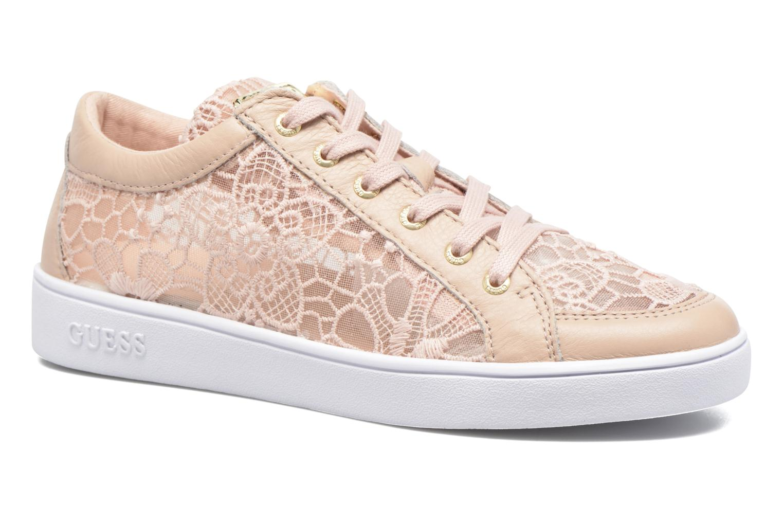 Guess Glinna 3 (Rose) - Baskets chez Sarenza (287107)