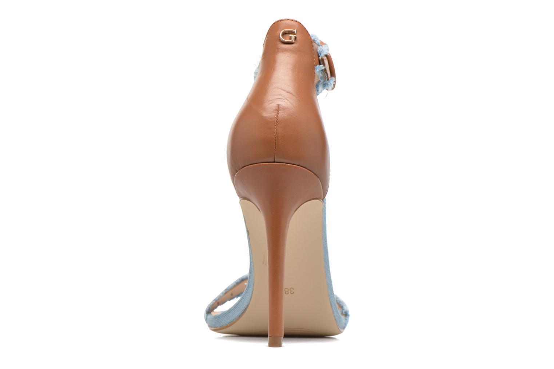 Sandales et nu-pieds Guess Petra Multicolore vue droite