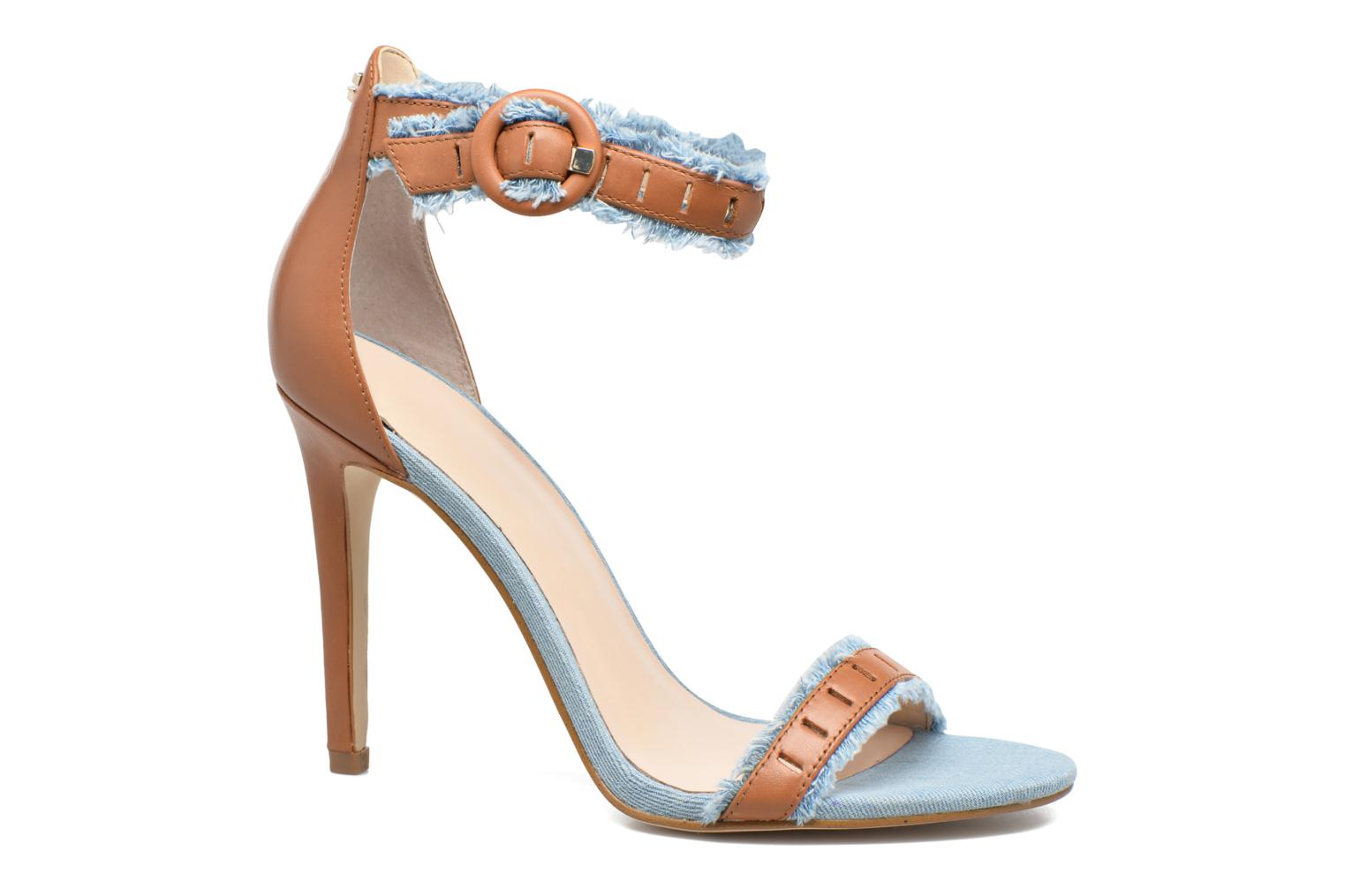 Marques Chaussure luxe femme Guess femme Petra Rose / beige brown