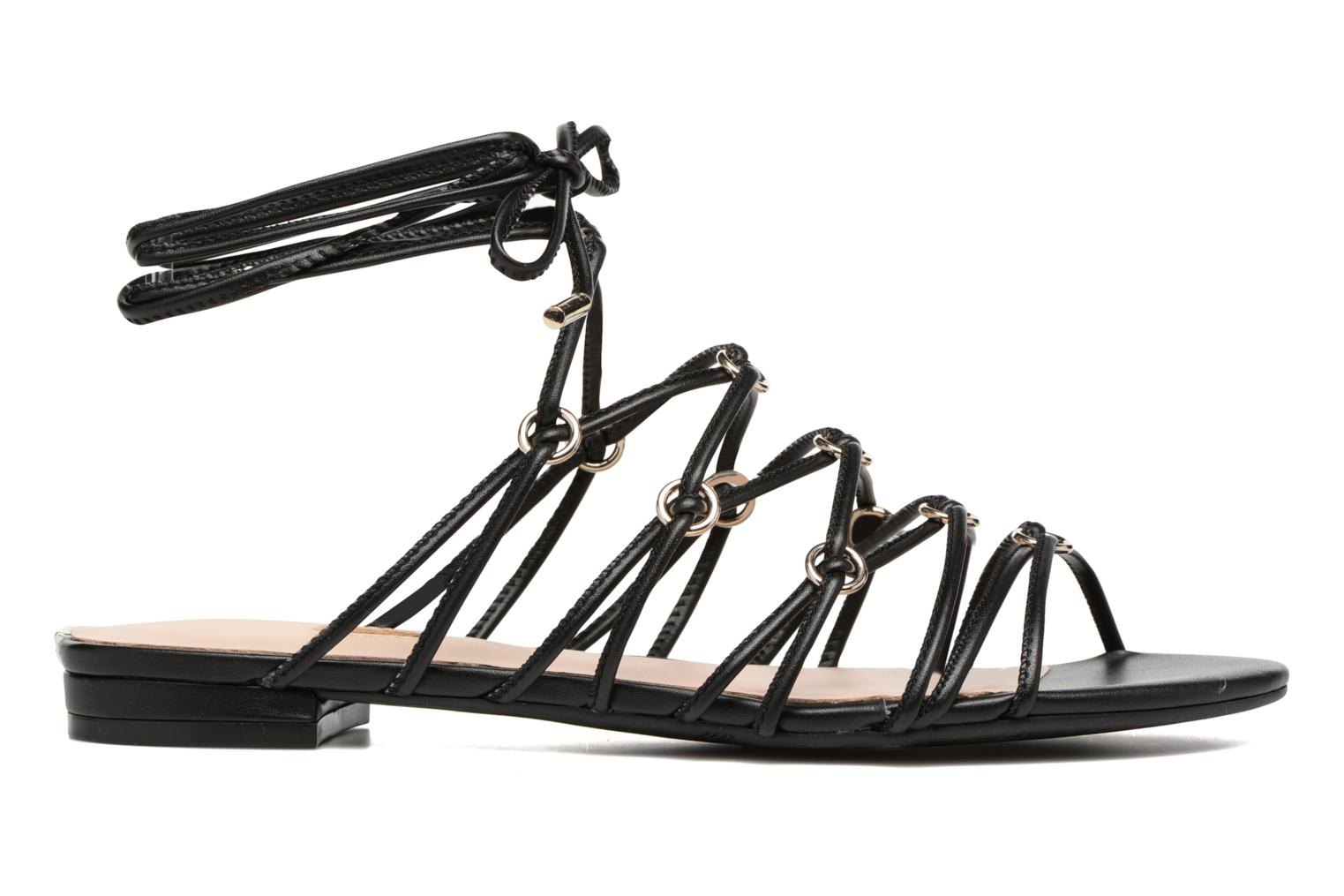 Sandals Guess Racha Black back view
