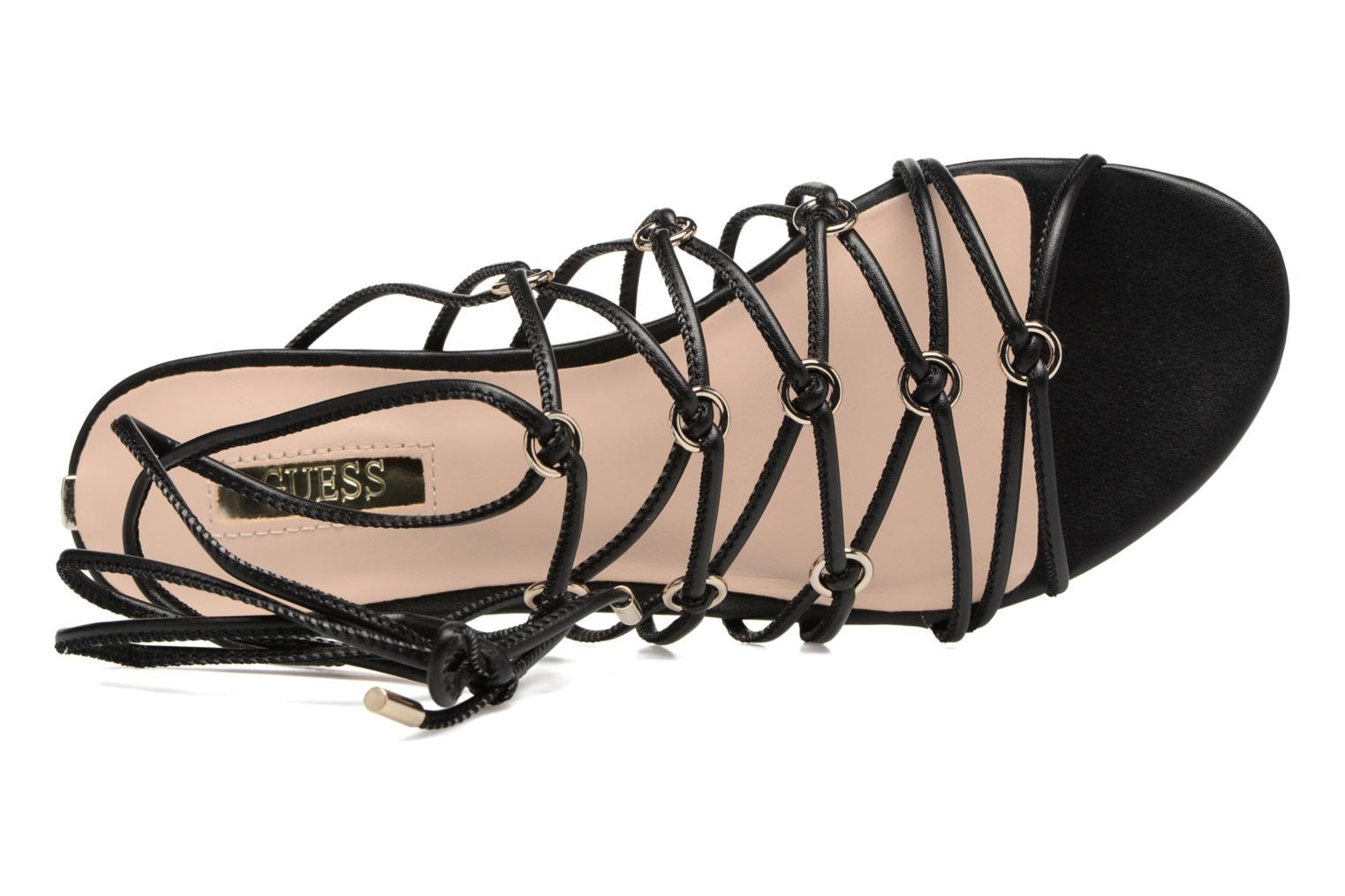 Sandalen Guess Racha Zwart links