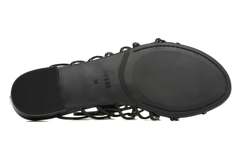 Sandalen Guess Racha schwarz ansicht von oben