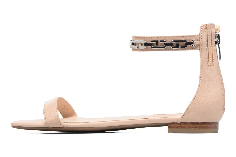 Sandali e scarpe aperte Guess Rafina Beige immagine frontale