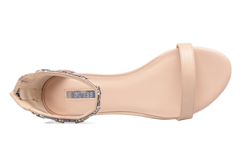 Sandali e scarpe aperte Guess Rafina Beige immagine sinistra