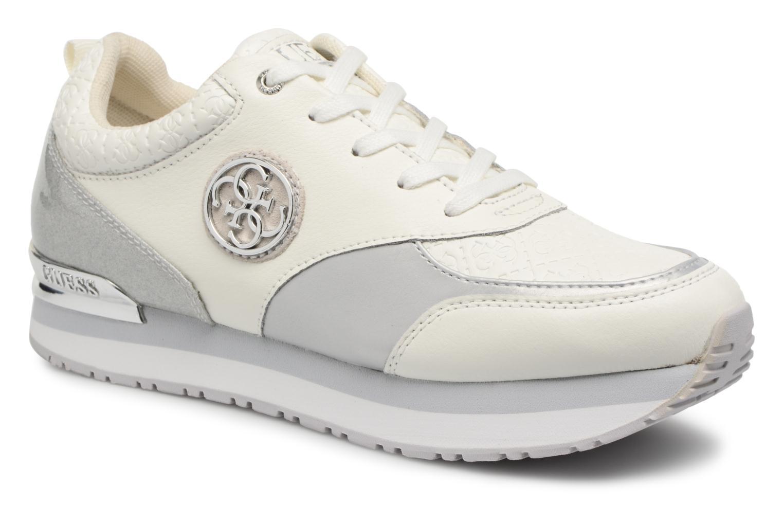 Zapatos de hombres y mujeres de moda casual Guess Rimma (Blanco) - Deportivas en Más cómodo