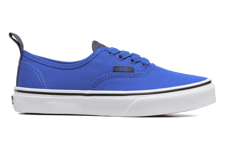 Baskets Vans Authentic Elastic Lace Bleu vue derrière