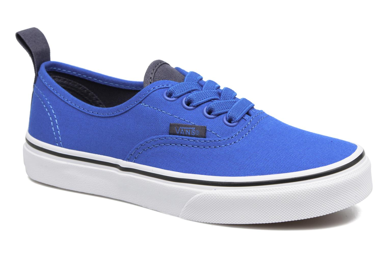 Baskets Vans Authentic Elastic Lace Bleu vue détail/paire