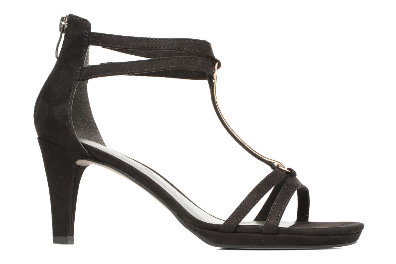 Sandales et nu-pieds Tamaris Lapacho Noir vue derrière