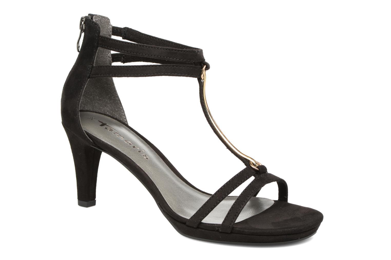 Sandales et nu-pieds Tamaris Lapacho Noir vue détail/paire