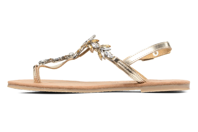 Sandales et nu-pieds Tamaris Gardénia Or et bronze vue face