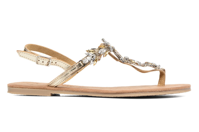 Sandales et nu-pieds Tamaris Gardénia Or et bronze vue derrière