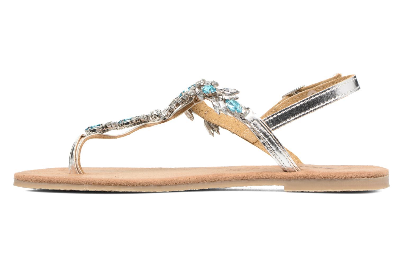 Sandales et nu-pieds Tamaris Garrya Argent vue face