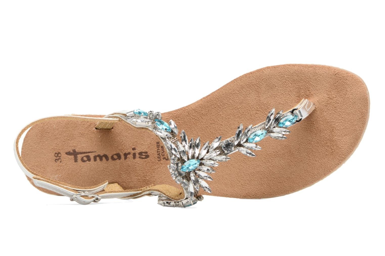 Sandales et nu-pieds Tamaris Garrya Argent vue gauche