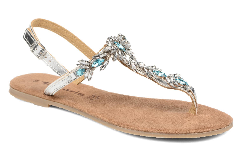 Sandales et nu-pieds Tamaris Garrya Argent vue détail/paire